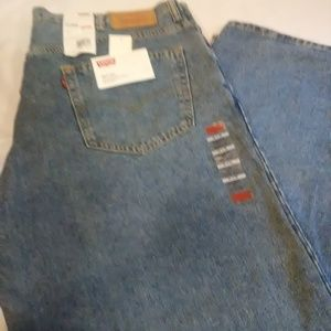 Mens Levis 550 Relaxed Fit Big & Tall Jeans 44x29